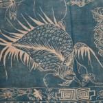 Détail de l'oiseau (partie inférieure du Batik)