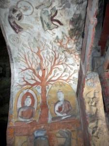 J11 grottes de Yungang 4 eveil du bouddha  195