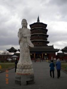 J11 Datong 1 pagode bois bouddha 107
